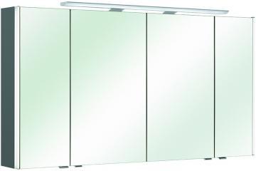 Pelipal Neutraler Spiegelschrank S10-SPS 24 LEDplus Typ I 132 cm