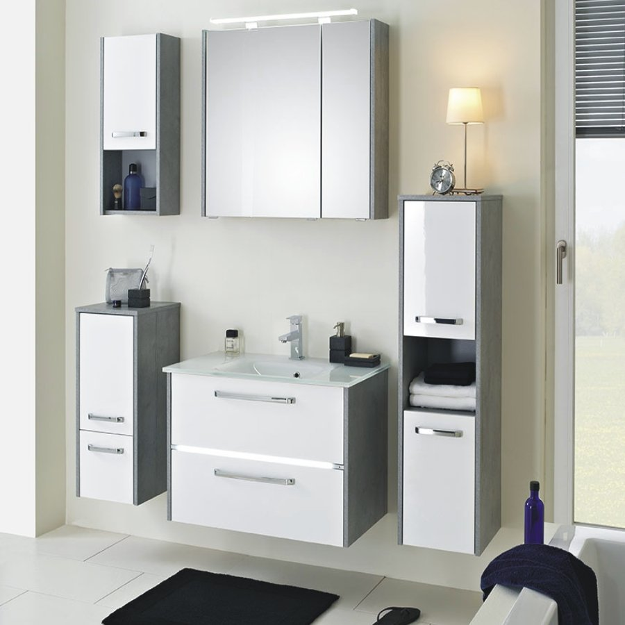 pelipal fokus 3050 badm bel set g nstig arcom center. Black Bedroom Furniture Sets. Home Design Ideas
