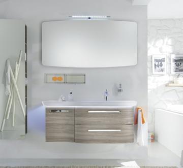Cannes 119 cm Set C | Becken rechts + Spiegel