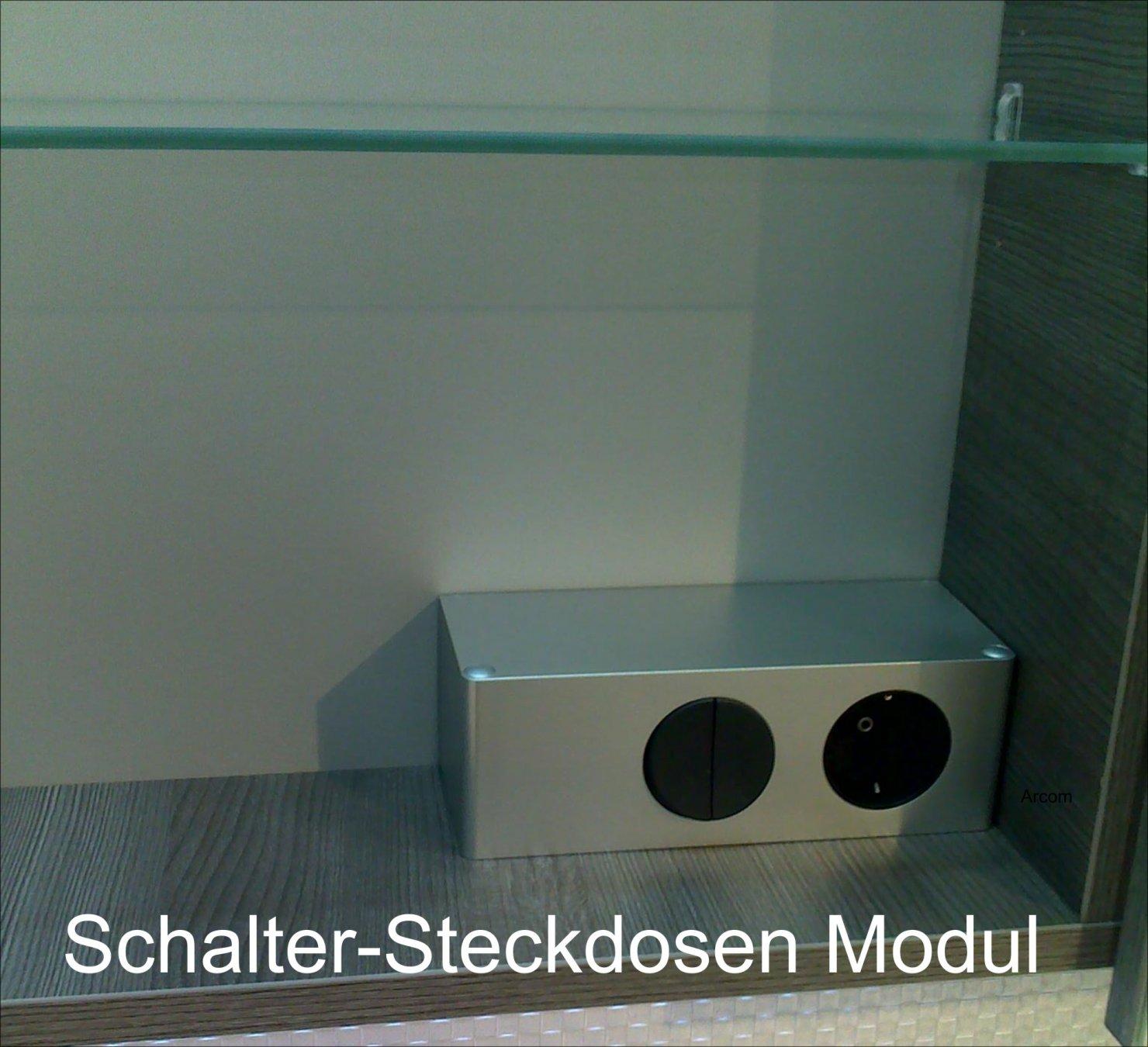 Ranna Set 155 cm | RUNDUNG LINKS + Tür Rechts | Spiegelschrank G