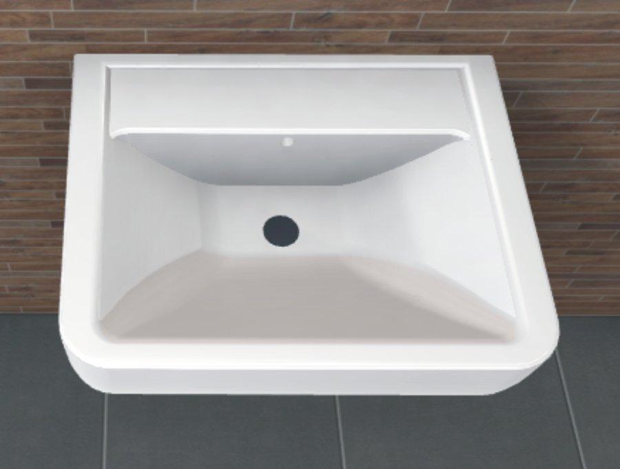 Keramag Renova Nr 1 Plan Waschbecken