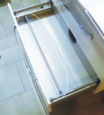 Marlin Bad 3100 - Scala | Inneneinteilung 120 cm