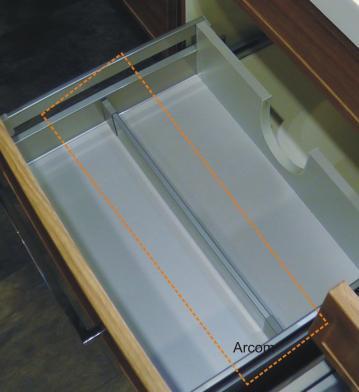 Marlin Bad 3130 - Azure | Inneneinteilung 60 cm