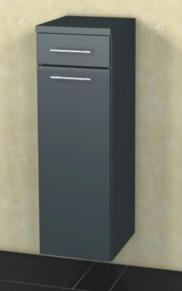 Marlin Bad 3060 | Highboard 40 cm mit 1 Tür + 1 Auszug