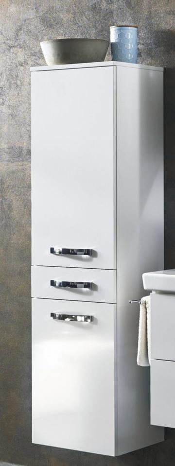 Marlin Bad 3060 | Mittelschrank 40 cm mit 2 Türen + 1 Auszug