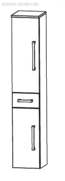 Puris Fine Line Badmöbel Hochschrank 30 cm