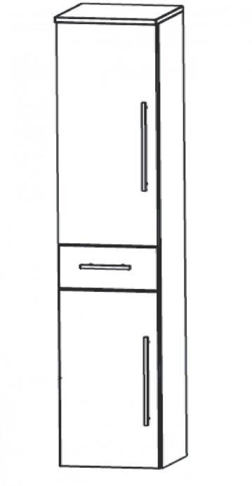 Puris Fine Line Badmöbel Hochschrank 40 cm
