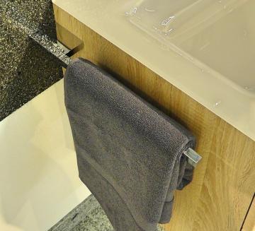 Puris Slim Line Handtuchhalter offen