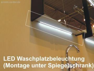 Puris Purefaction LED Waschtplatzbeleuchtung | Breite 86 cm