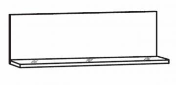 Marlin Bad 3100 - Winkelablage 45 cm