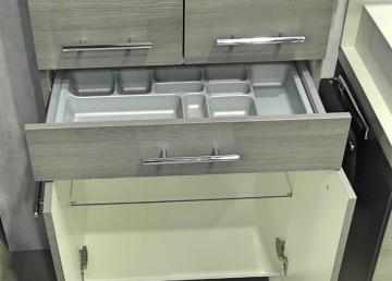 Marlin Bad 3040 | Schubkasteneinsatz für Beistellschränke 60 cm