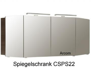 Pelipal Cassca Badmöbel Spiegelschrank A | 153 cm