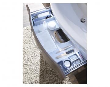 Pelipal Contea Badmöbel Kosmetikeinsatz für Waschtischunterschrank mit Auszüge unter dem Waschtischbecken