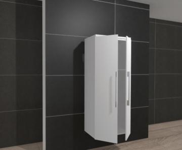 Pelipal PCON Midischrank | 2 Türen | Breite 60 cm | Höhe 136 cm
