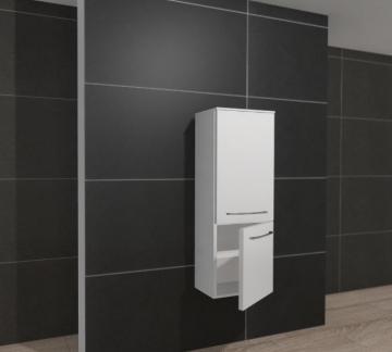 Pelipal PCON Midischrank | 2 Türen | Breite 45 cm | Höhe 136 cm