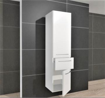 Athen Hochschrank 45 cm + 2 Türen + 1 Auszug