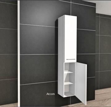 Anza Hochschrank 30 cm + 2 Türen | Tiefenvariabel
