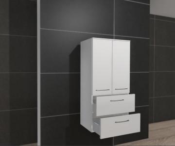 Rovana Midischrank 60 cm + 2 Türen + 2 Auszüge