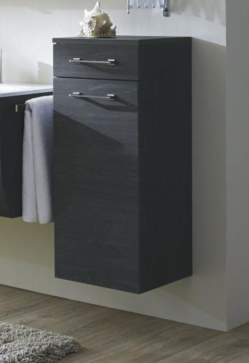 Badmöbel Marlin Bad 3130 - Azure Highboard + Schubkasten | 40 cm