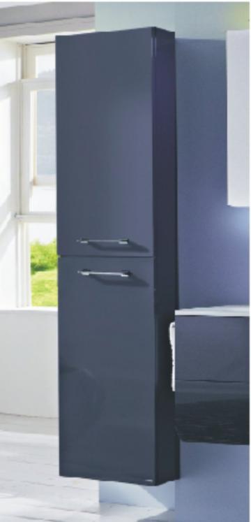Marlin Bad 3130 - Azure Hochschrank | 40 cm | Tiefe 17,6 cm
