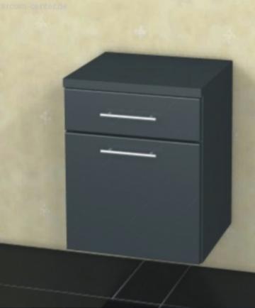 Badmöbel Marlin Bad 3130 - Azure Unterschrank + 1 Tür + 1 Auszug | 40 cm