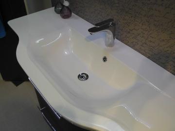 Badmöbel Pelipal Contea Waschtisch Mineralguß 137 cm