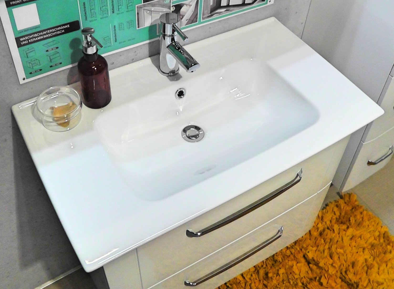 pelipal fokus 3005 keramikwaschtisch 80 cm. Black Bedroom Furniture Sets. Home Design Ideas