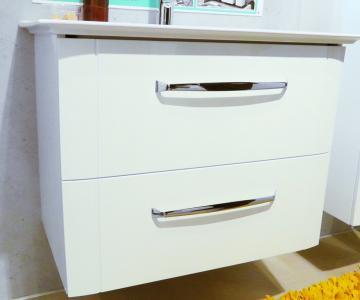 Badmöbel Pelipal Fokus 3005 Waschtischunterschrank 2 Auszüge 80 cm