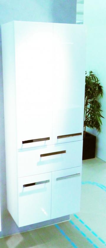 Badmöbel Pelipal Fokus 4005 | Hochschrank + Wäschekippe