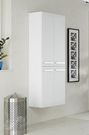 Badmöbel Pelipal Fokus 4005 | Hochschrank + 4 Türen