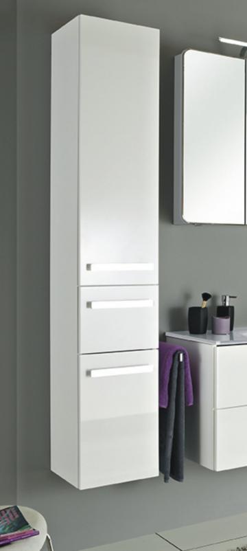 Badmöbel Pelipal Fokus 4005 | Hochschrank + 2 Türen