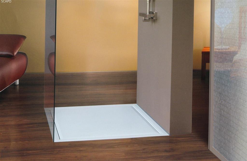bodengleiche duschwanne 100 x 80 cm arcom center. Black Bedroom Furniture Sets. Home Design Ideas