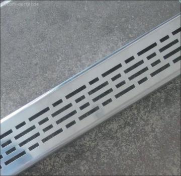 Duschrinnen Designrost 80 cm