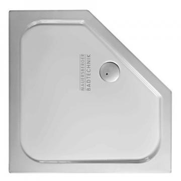 Mauersberger Ceptor Duschwanne Fünfeck 100x100 cm | Superflach