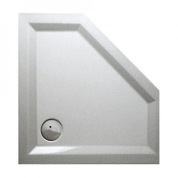 Mauersberger Ceptor Duschwanne Fünfeck 90x90 cm | Superflach