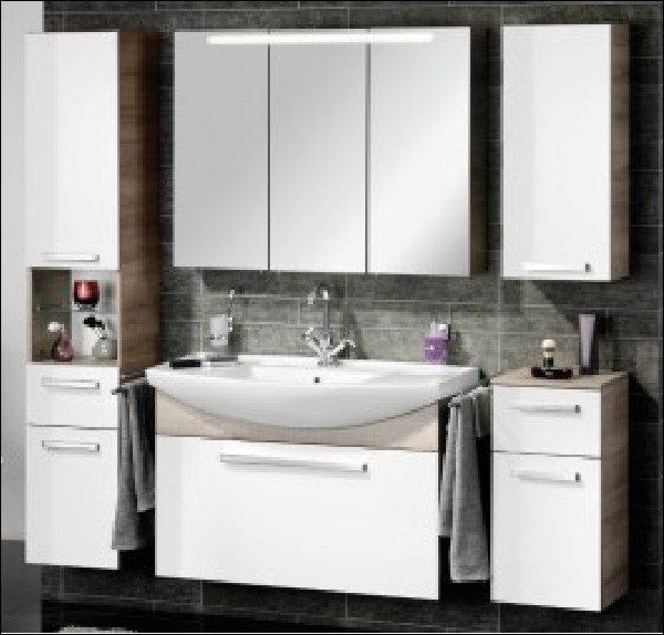 hochschrank a vero badschrank g nstig. Black Bedroom Furniture Sets. Home Design Ideas