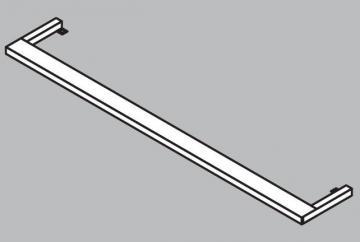 Fackelmann Badmöbel Lugano Weiß LED-Aufsatzleuchte