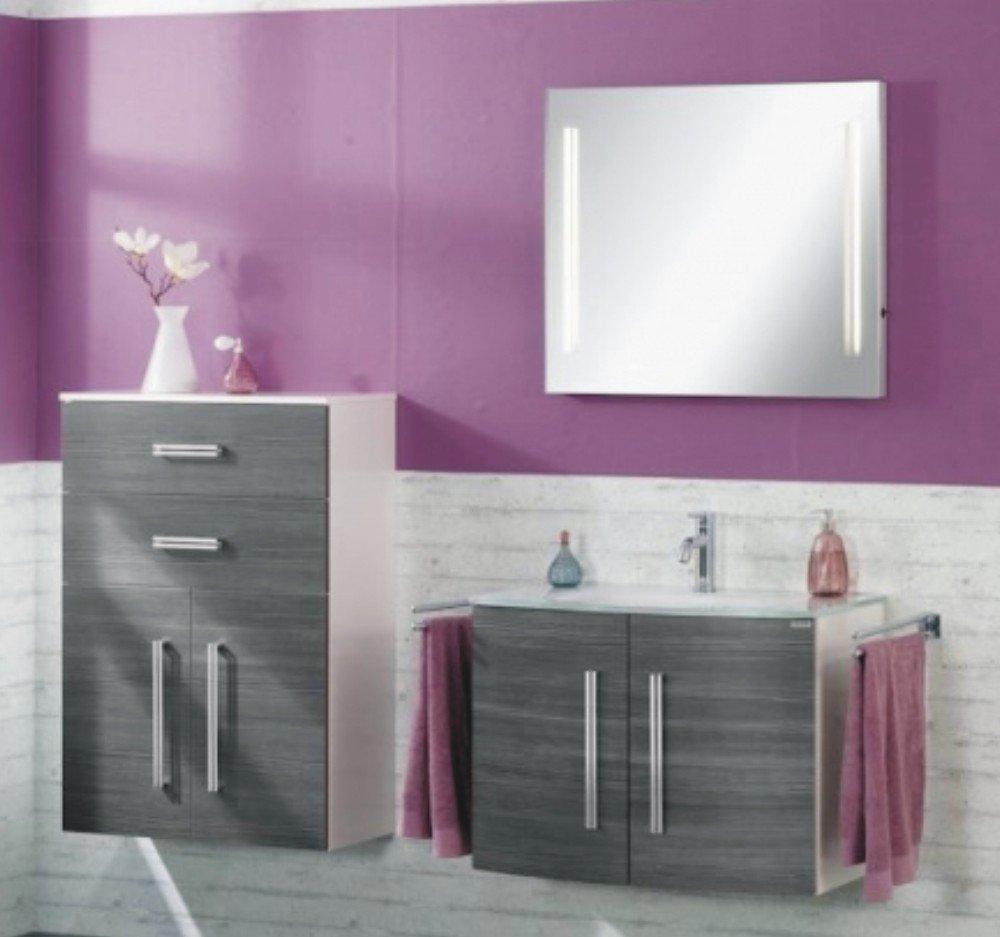 fackelmann lugano wei set b 80 cm arcom center. Black Bedroom Furniture Sets. Home Design Ideas