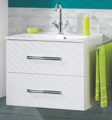 Fackelmann Como Weiß Waschtischunterschrank 60 cm