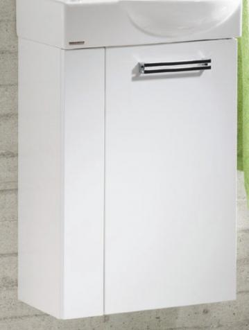 Fackelmann Como Weiß Waschtischunterschrank rechts
