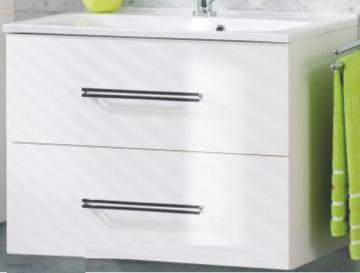 Fackelmann Como Weiß Waschtischunterschrank 80 cm
