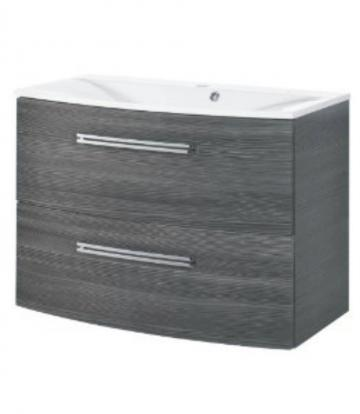 Fackelmann Lugano Pinie Waschtischunterschrank mit 2 Auszügen