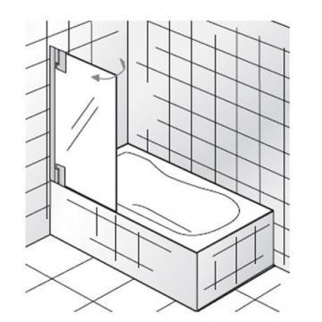 HSK Badewannenaufsatz K2P Variante A + 1 Teil