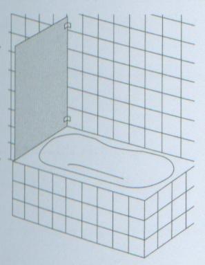 HSK Badewannenaufsatz Kienle Variante B + 1 Teil