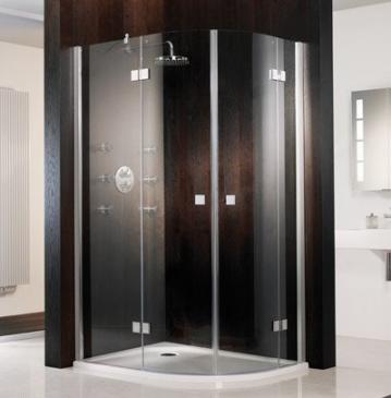 HSK Duschkabine Atelier C Viertelkreis Dusche | 2 Türen
