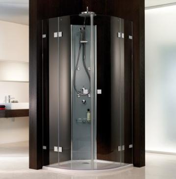 HSK Duschkabine Atelier Pur Viertelkreis Dusche + 2 Türen