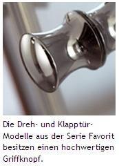 hsk duschkabine favorit c nischendusche | klapptür - arcom center - Dusche Klapptur