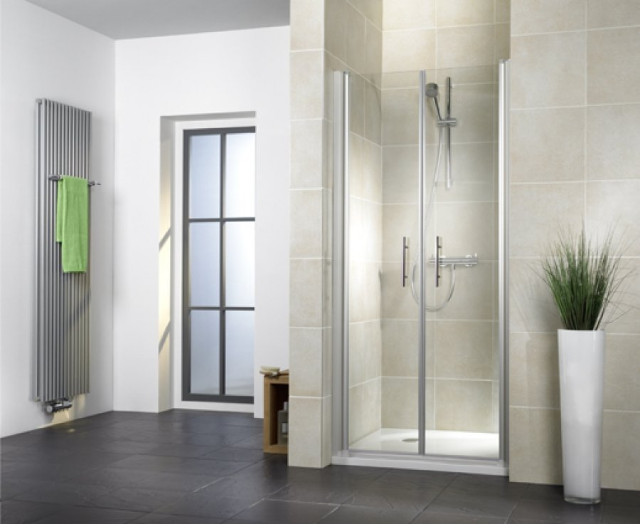 hsk duschkabine favorit nova a nischendusche 2 pendelt ren arcom center. Black Bedroom Furniture Sets. Home Design Ideas