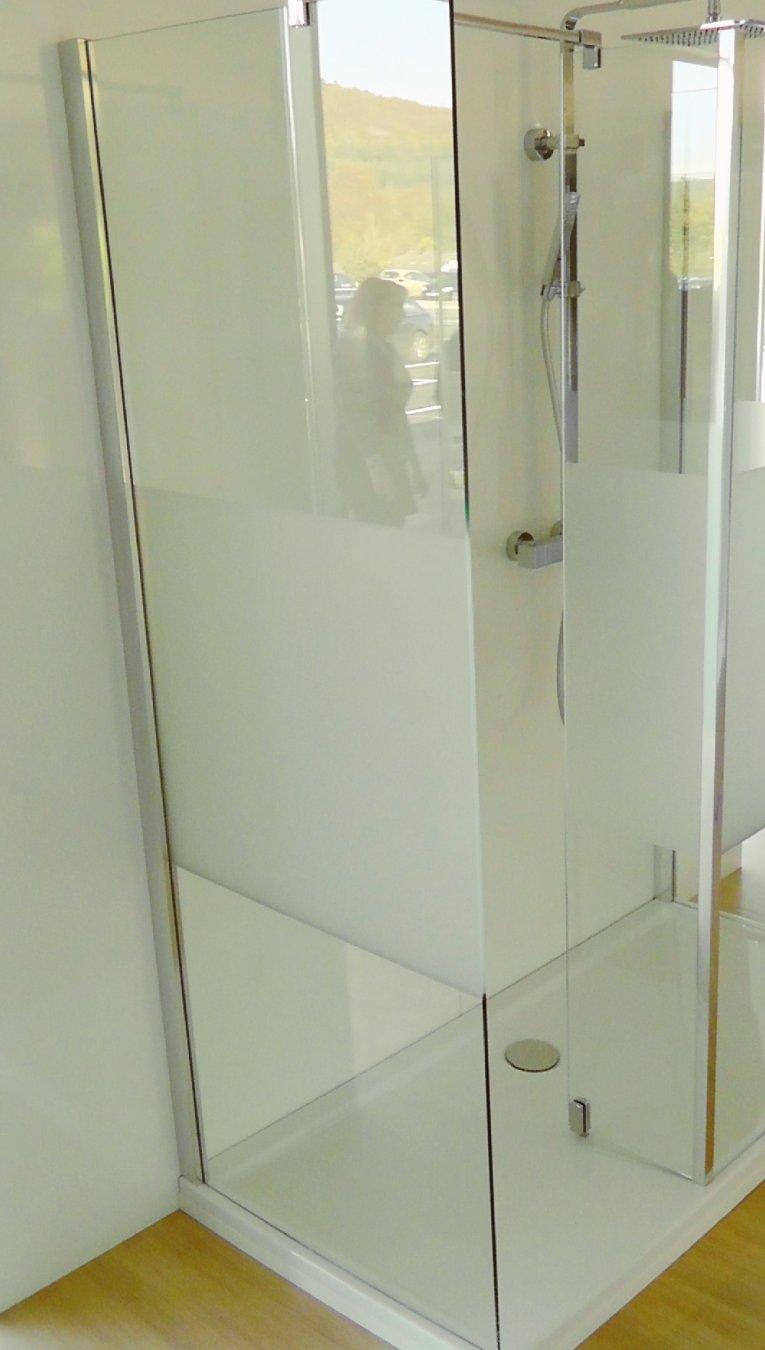 hsk duschkabine walk in atelier seitenwand arcom center. Black Bedroom Furniture Sets. Home Design Ideas