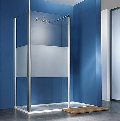 duschabtrennung glas satiniert. Black Bedroom Furniture Sets. Home Design Ideas